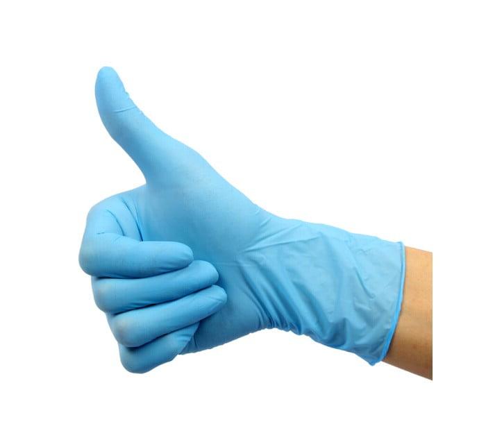 92-200一次性无粉丁腈橡胶手套