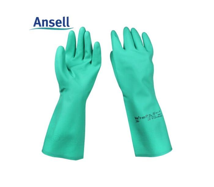 37-145耐油耐酸碱丁腈橡胶手套