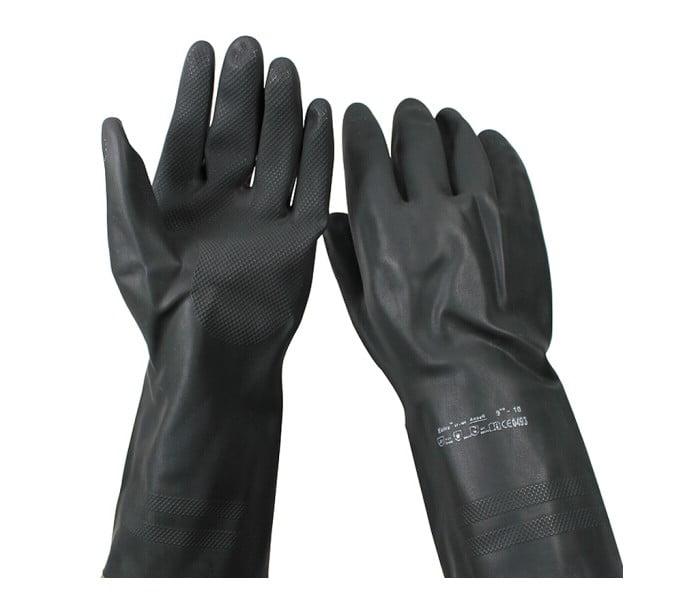 87-950 重量型耐酸碱化工橡胶手套