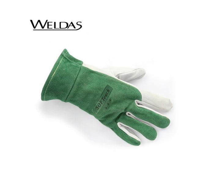 10-1006羊青皮手掌头层皮焊接手套