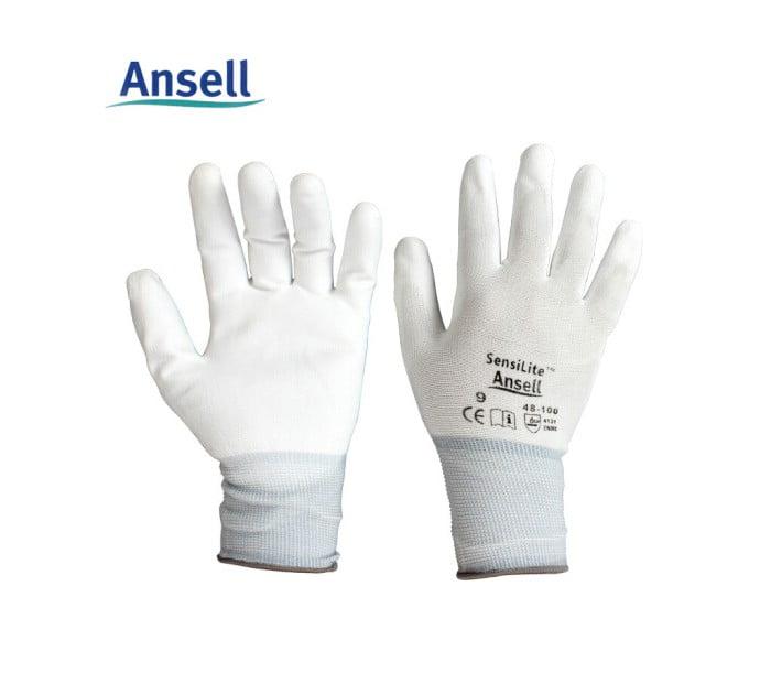 48-100 PU涂层精细操作手套