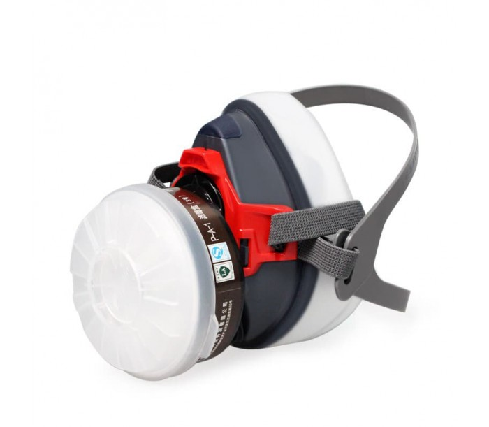 ST-1090防毒半面罩(硅胶)套装