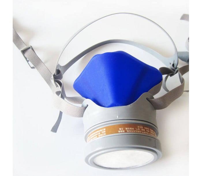 6089单滤盒硅胶防毒面具