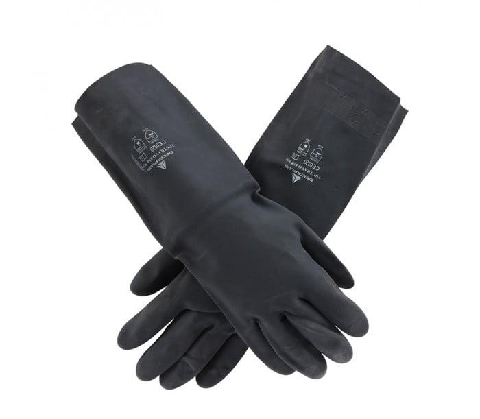 201510氯丁防化耐酸碱手套