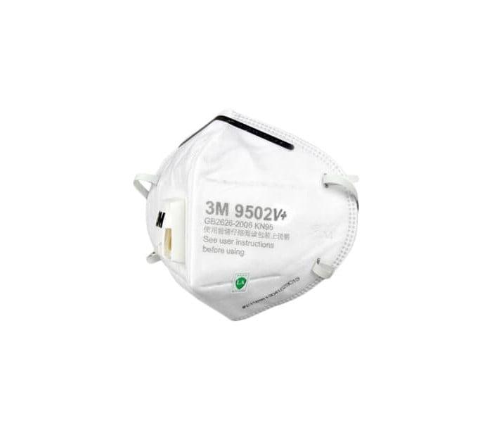 9502V+头戴式带阀防颗粒物口罩